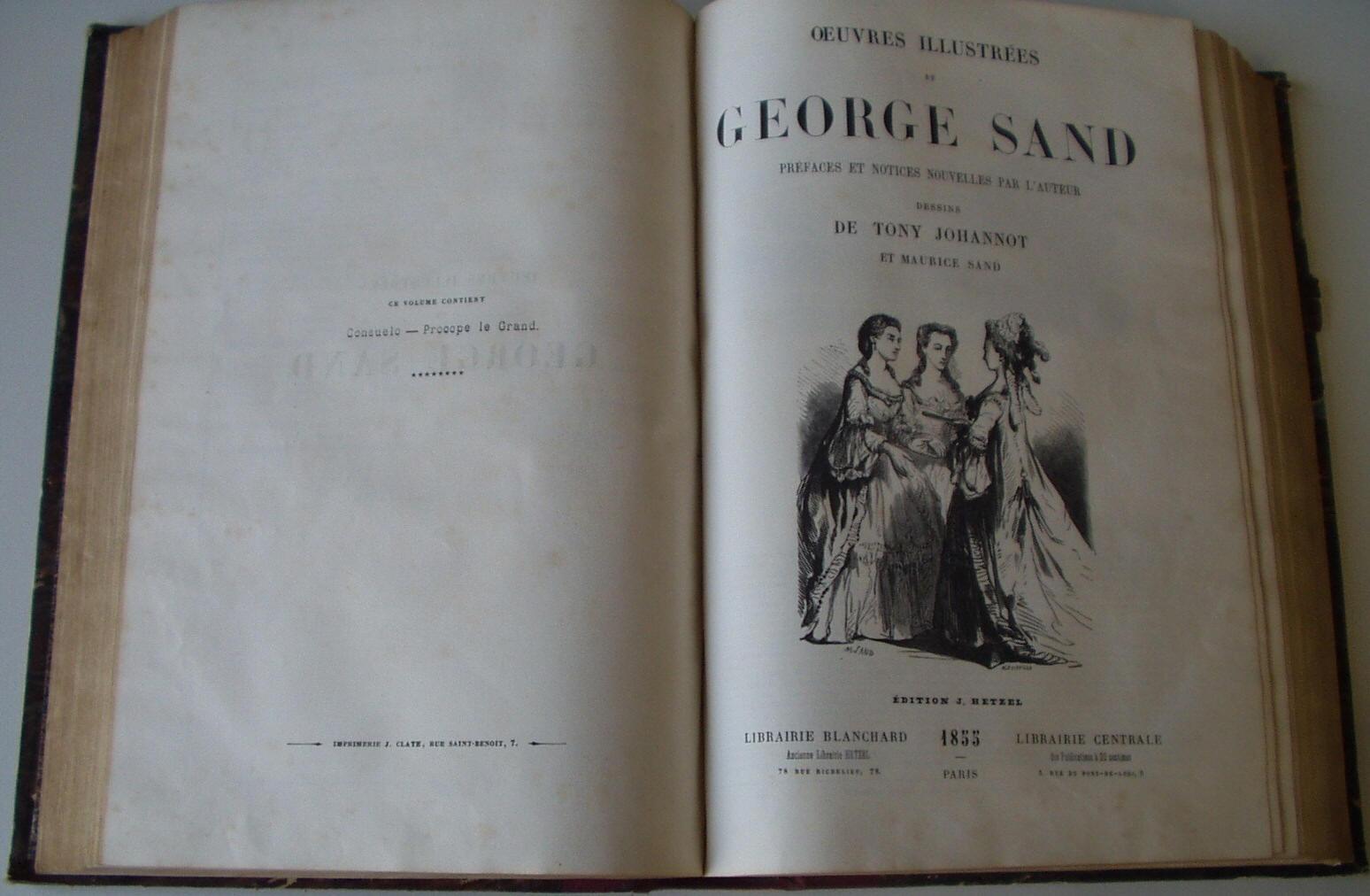 george sand oeuvres illustr u00e9es